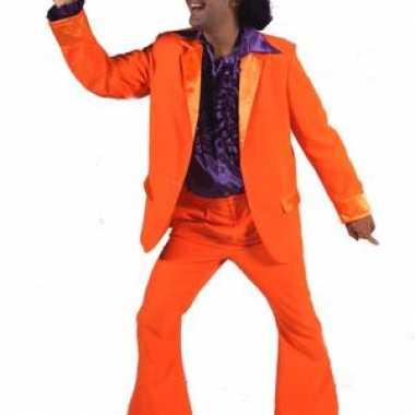 Heren outfit oranje